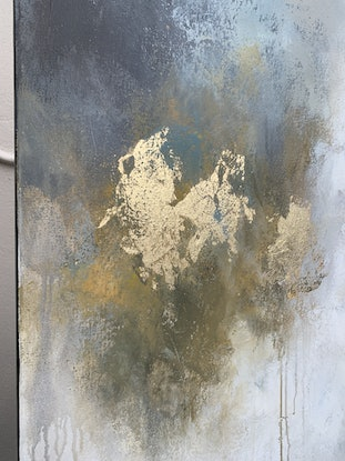 (CreativeWork) Smoky Bourbon Sour by Lisa Wisse-Robinson. Mixed Media. Shop online at Bluethumb.
