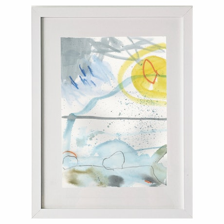 (CreativeWork) Boat Harbour 1 by Gina fynearts. Watercolour Paint. Shop online at Bluethumb.