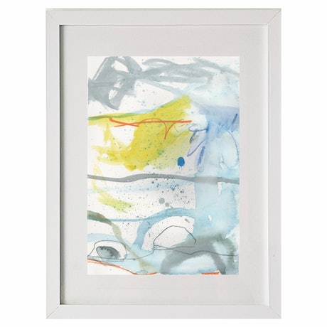 (CreativeWork) Boat Harbour 2 by Gina fynearts. Watercolour Paint. Shop online at Bluethumb.