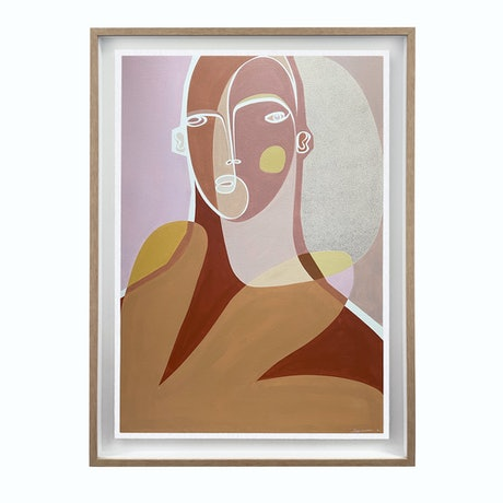 (CreativeWork) 'Glimmer' by Angus Martin. Acrylic. Shop online at Bluethumb.