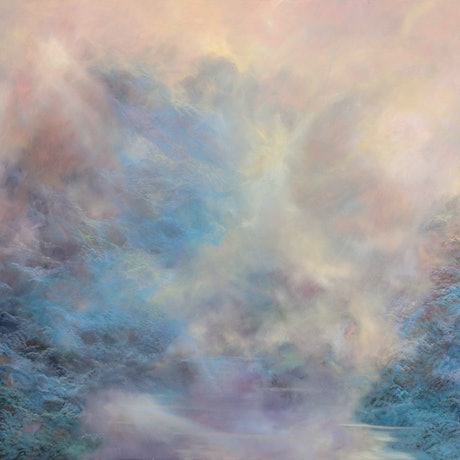 (CreativeWork) Minds Place Angel Flight by Barbara Suttie. Oil Paint. Shop online at Bluethumb.