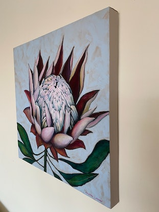 (CreativeWork) Idyll by Andrea Leaver. Acrylic Paint. Shop online at Bluethumb.