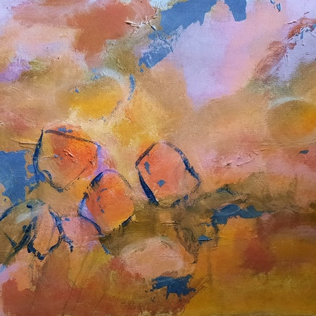 (CreativeWork) 1. Reflections of Australian Landscapes by Ruby Purple. Mixed Media. Shop online at Bluethumb.