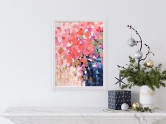 (CreativeWork) Pride and Passion by Catherine Fitzgerald. Acrylic. Shop online at Bluethumb.