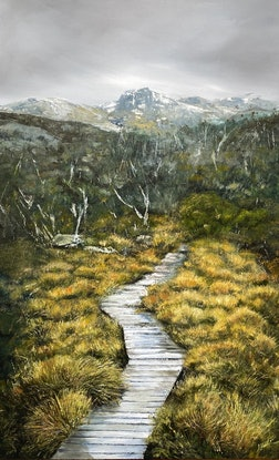 (CreativeWork) The Path less travelled Ed. 1 of 100 by Annie Hawkins. Print. Shop online at Bluethumb.