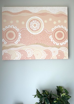 (CreativeWork) MURRUP by Courtney Jean. Acrylic. Shop online at Bluethumb.