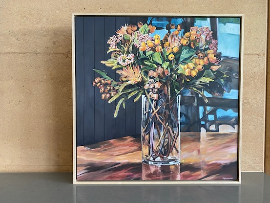 (CreativeWork) Favourite Floral Ed. 2 of 99 by Emma Nancarrow. Print. Shop online at Bluethumb.