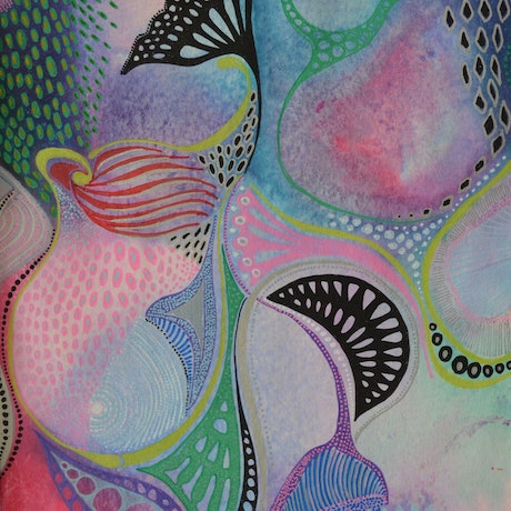 (CreativeWork) Synapse by Jennifer Lacey. Mixed Media. Shop online at Bluethumb.