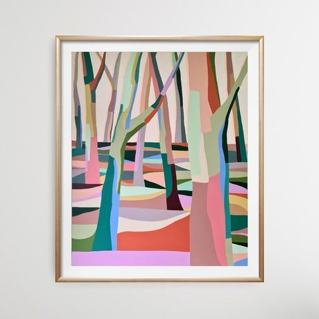 (CreativeWork) Within *Limited edition print Ed. 1 of 25 by Amy Kim. Print. Shop online at Bluethumb.