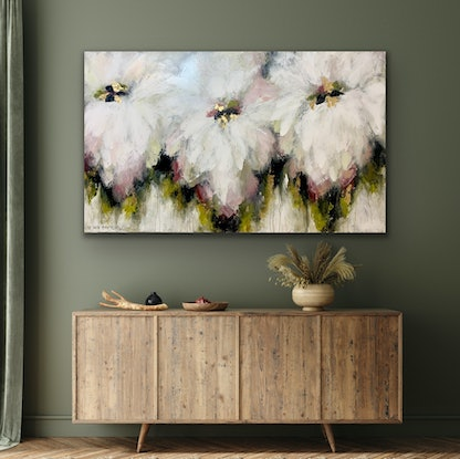 (CreativeWork) Champagne & Lychee Cocktail by Lisa Wisse-Robinson. Mixed Media. Shop online at Bluethumb.