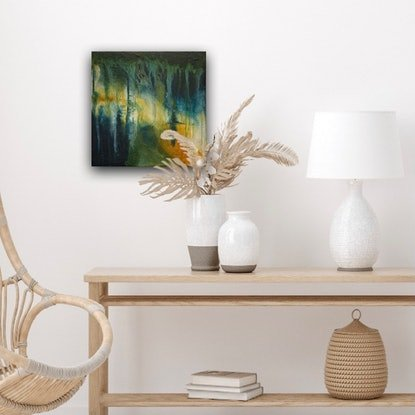 (CreativeWork) Serendipity 4 by Hayley Kruger. Acrylic Paint. Shop online at Bluethumb.
