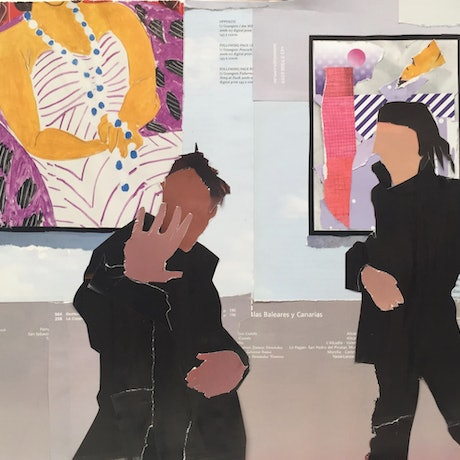 (CreativeWork) Richard at the Gallery by Vicki Bosworth. Other Media. Shop online at Bluethumb.