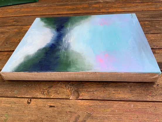 (CreativeWork) Reflections II by Jessica Davidson. Oil Paint. Shop online at Bluethumb.
