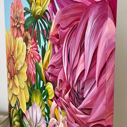 (CreativeWork) IN THE LIGHT OF DAY by Treena Seymour. Acrylic. Shop online at Bluethumb.