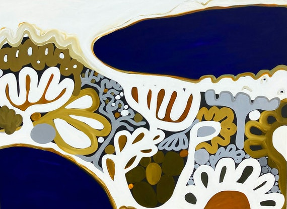 (CreativeWork) Point Nepean XV by Sarah Morrow. Acrylic Paint. Shop online at Bluethumb.
