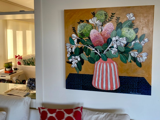 (CreativeWork) Interlude by Andrea Leaver. Acrylic Paint. Shop online at Bluethumb.