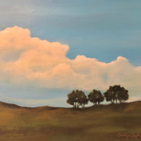 (CreativeWork) Sense of Place #2 by Carolyn Stephens. Acrylic Paint. Shop online at Bluethumb.