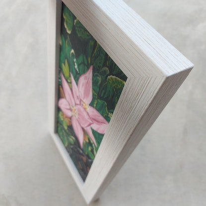 (CreativeWork) Wildflowers of the cape by Ellie Biggs. Acrylic Paint. Shop online at Bluethumb.
