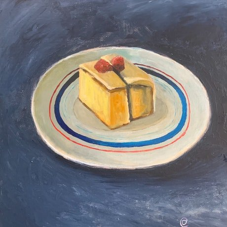 (CreativeWork) And Eat It by Dylan Cooper. Acrylic Paint. Shop online at Bluethumb.