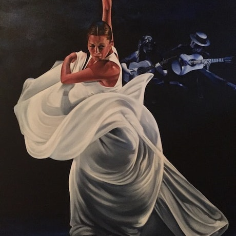 (CreativeWork) Passion by Gerlinde Thomas. Oil. Shop online at Bluethumb.