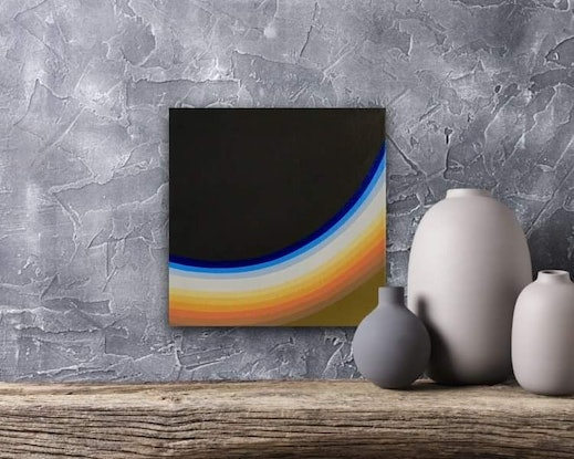 (CreativeWork) Study for a larger painting by Brad Holland. Acrylic Paint. Shop online at Bluethumb.