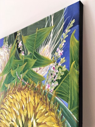 (CreativeWork) Come A Little Bit Closer - LIMITED EDITION GICLEE PRINT on stretched canvas - Ready To Hang Ed. 2 of 100 by HSIN LIN. Print. Shop online at Bluethumb.