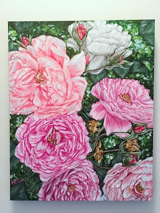 (CreativeWork) Spring Back To Life - LIMITED EDITION GICLEE PRINT on stretched canvas  Ed. 1 of 100 by HSIN LIN. Print. Shop online at Bluethumb.