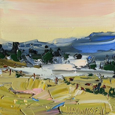 (CreativeWork) Upper Beechmont by Angela Hawkey. Oil Paint. Shop online at Bluethumb.