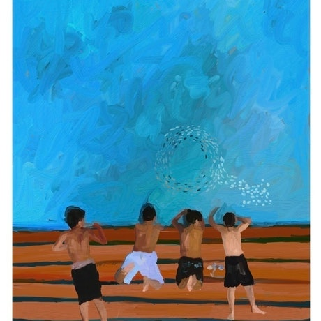 (CreativeWork) Boys of Summer - Aussie Nostalgia Series Ed. 5 of 50 by Pip Phelps. Print. Shop online at Bluethumb.