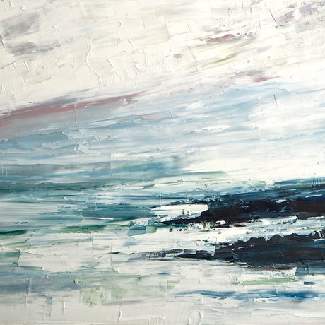 (CreativeWork) Salt    by Michelle Keighley. Oil Paint. Shop online at Bluethumb.
