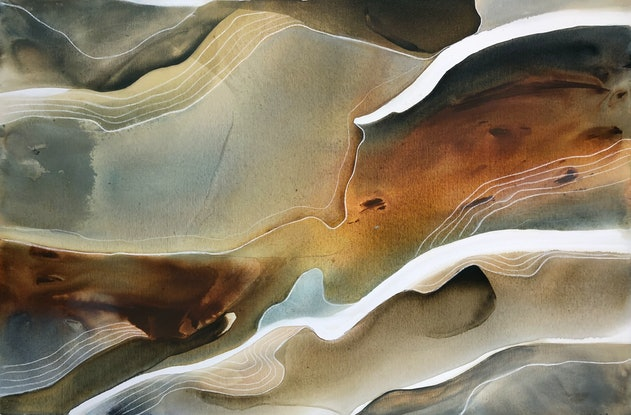 (CreativeWork) Sierra 3 by Dinah Wakefield. Acrylic. Shop online at Bluethumb.