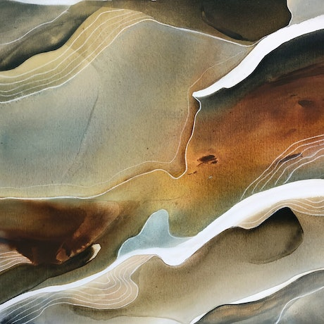 (CreativeWork) Sierra 3 by Dinah Wakefield. Acrylic Paint. Shop online at Bluethumb.