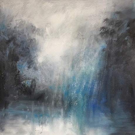 (CreativeWork) A Winter's Tale by Cathy Yarwood - Mahy. Oil Paint. Shop online at Bluethumb.