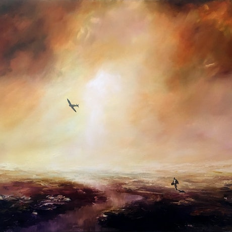 (CreativeWork) The Escape by James Robertson. Oil. Shop online at Bluethumb.
