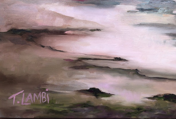 (CreativeWork) Without Expectation by Trisha Lambi. Oil Paint. Shop online at Bluethumb.