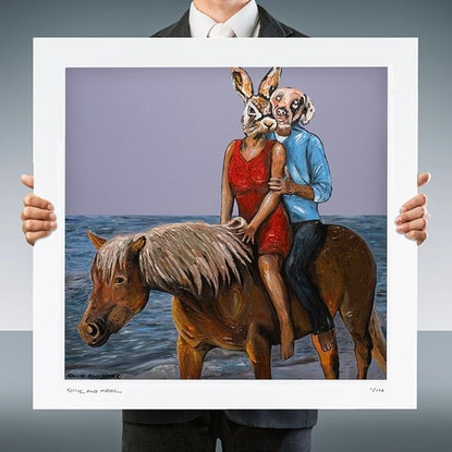 (CreativeWork) It was Better than Sex  (Print) by Gillie and Marc Schattner. Print. Shop online at Bluethumb.