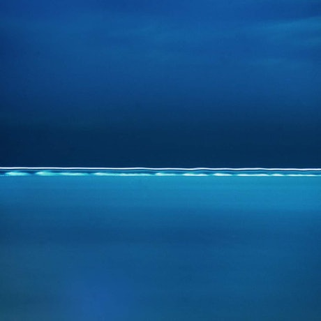 (CreativeWork) Night Blues with Passing Speed-boat  Ed. 1 of 5 by Alex Frayne. Photograph. Shop online at Bluethumb.