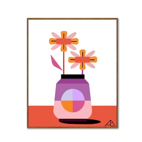 (CreativeWork) Still Life No 126 by Andria Beighton. Acrylic Paint. Shop online at Bluethumb.