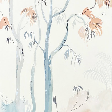 (CreativeWork) Amongst the Gums 2021 by Sally Browne. Watercolour Paint. Shop online at Bluethumb.