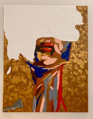(CreativeWork) Blinded By The Light by Ginsten _. Acrylic Paint. Shop online at Bluethumb.