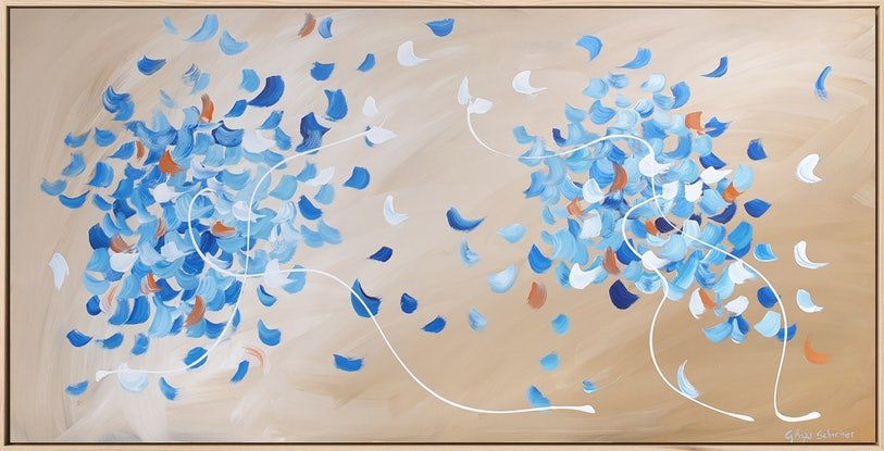 (CreativeWork) Si pudiera... (If I could...) by Gabriela Azar  Schreiner. Acrylic. Shop online at Bluethumb.