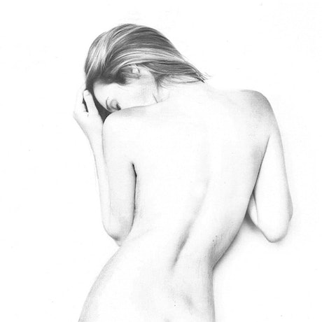 (CreativeWork) NUDE STUDY  by Lilly Antoneavic. Drawing. Shop online at Bluethumb.