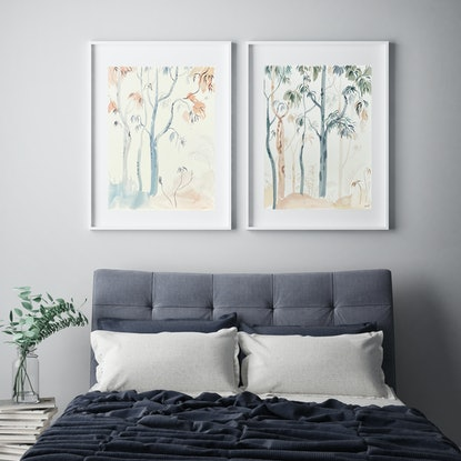 (CreativeWork) Memoirs of a Bushwalk - 2021 by Sally Browne. Watercolour Paint. Shop online at Bluethumb.