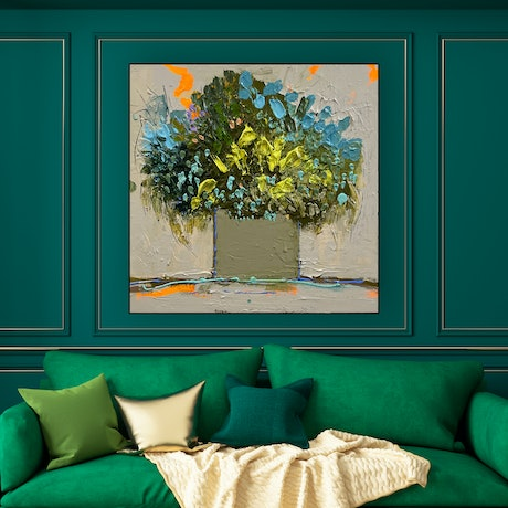 (CreativeWork) Belle by BAKER COLLECTION. Acrylic. Shop online at Bluethumb.