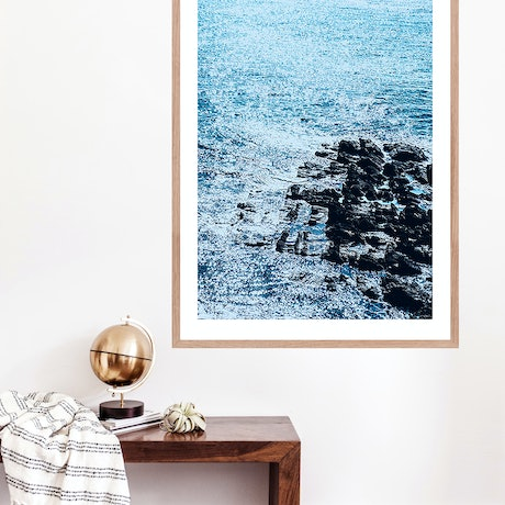 (CreativeWork) Great Ocean Road #4 Ed. 1 of 10 by Mat Hughes. Photograph. Shop online at Bluethumb.
