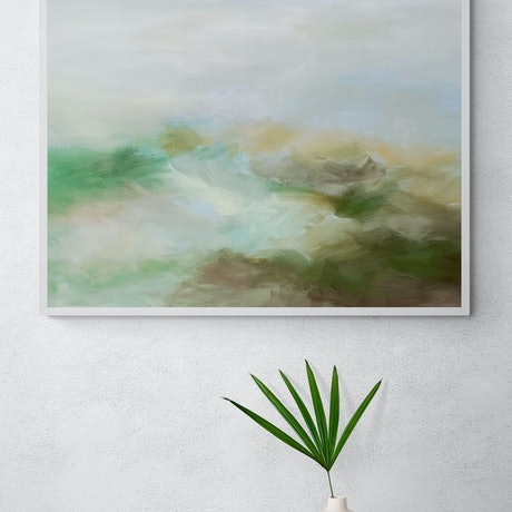 (CreativeWork) Light Within  by Theo Papathomas. Acrylic Paint. Shop online at Bluethumb.