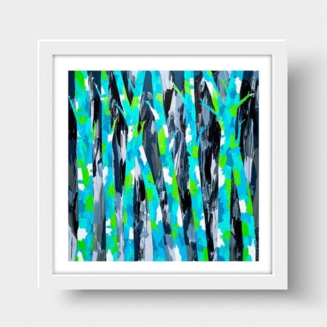 (CreativeWork) Trees of Mystery (Print)  by Gillie and Marc Schattner. Print. Shop online at Bluethumb.