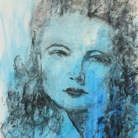 (CreativeWork) Yvonne by Jessica Davidson. Mixed Media. Shop online at Bluethumb.