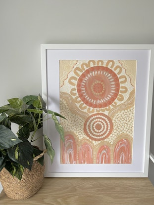 (CreativeWork) FAMILY MURRUP (Spirit) by Courtney Jean. Acrylic. Shop online at Bluethumb.