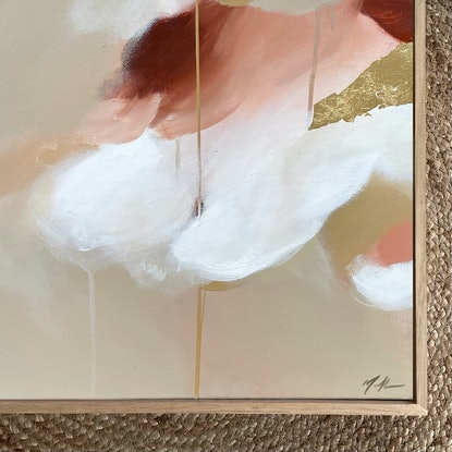 (CreativeWork) Taupe Dreaming by Marnie McKnight. Acrylic. Shop online at Bluethumb.